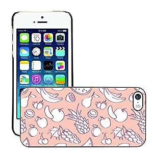 Print Motif Coque de protection Case Cover // V00002052 frutas en estilo de dibujos animados // Apple iPhone 5 5S 5G