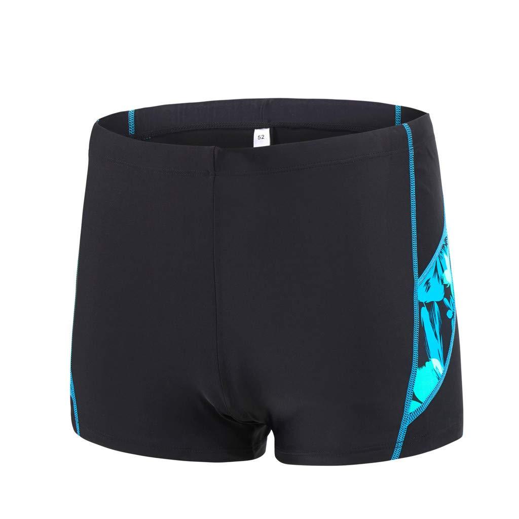 iLXHD Men Shorts Summer Quick Dry Swimwear Beach Surfing Running Swimming Short Pants Boxer Briefs
