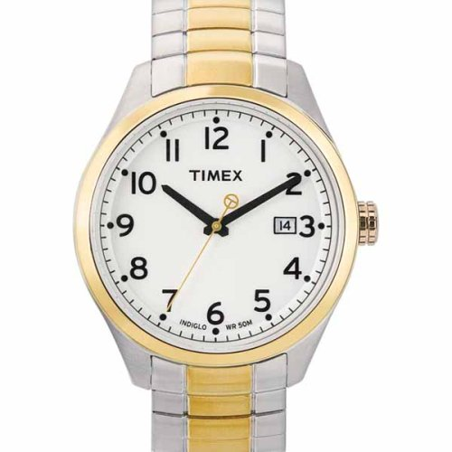 Timex Men's T2M466 T Series Two-Tone Expansion Watch