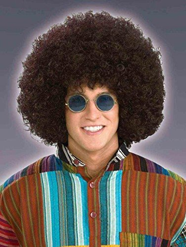 Clown Jumbo Afro Wig in Black (Jumbo Afro Adult Wig)