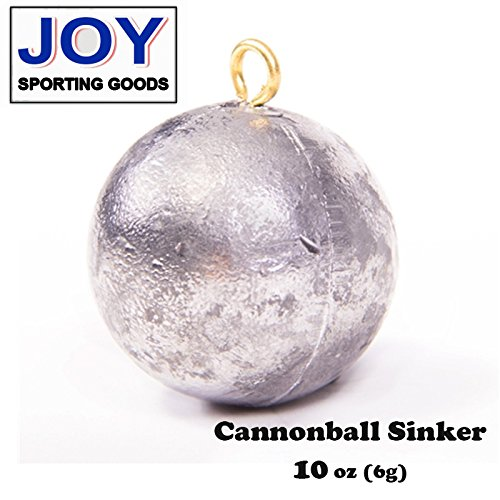 Cannonball 10 oz (1 pc) Fishing Sinker, Lead, Weight
