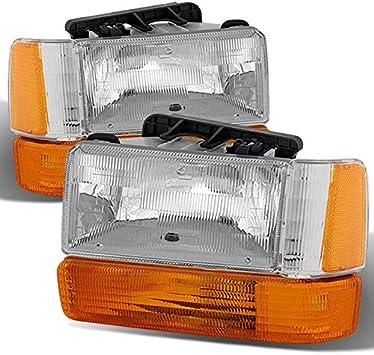 Replacement Aero Package Corner Lights Fits 91-96 Dakota Headlights Clear