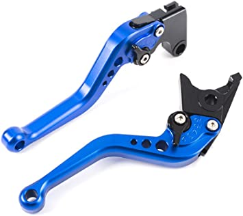 Short Brake Clutch Levers For Yamaha YZF R1 1999-2001 Red