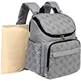 Kenox Unisex Multifunction Diaper Backpack Mummy Baby...