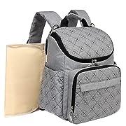 Kenox Unisex Multifunction Diaper Backpack Mummy Baby Bag