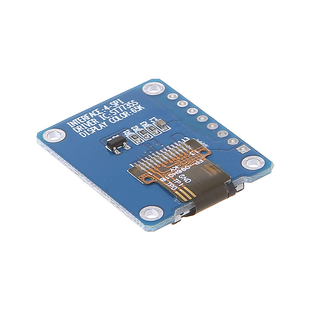 BIlinli 0,96 Zoll Farbe IPS TFT LCD Bildschirm Board f/ür ST7735 7 Pins SPI-Schnittstelle