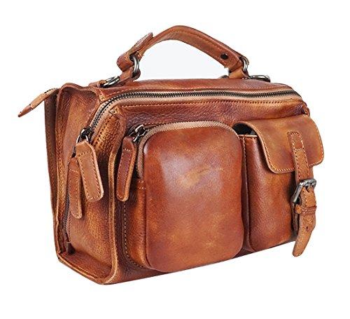Checkered Brown Bag - 9