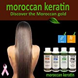 Moroccan Keratin Most Effective Brazilian Keratin Hair Treatment SET 120ML x4 Professional Salon