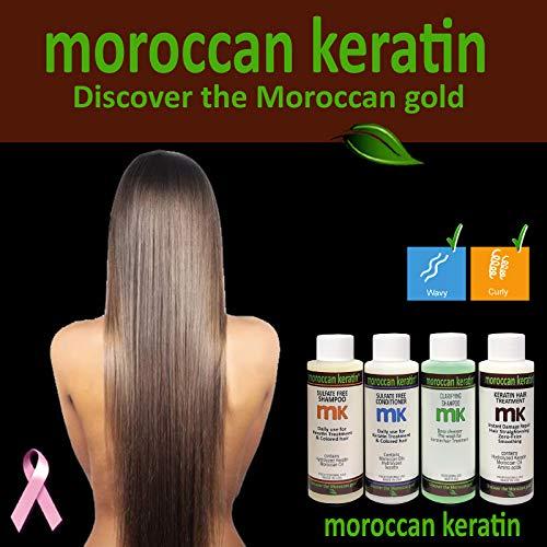 Moroccan Keratin Most Effective Brazilian Keratin Hair Treatment SET 120ML x4 Professional Salon Formula Shipping Available - Treatment Crema Hair