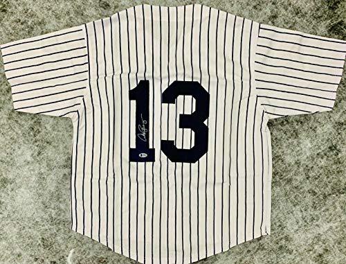 Alex Rodriguez Autographed Jersey - Beckett BAS - Beckett Authentication - Autographed MLB Jerseys