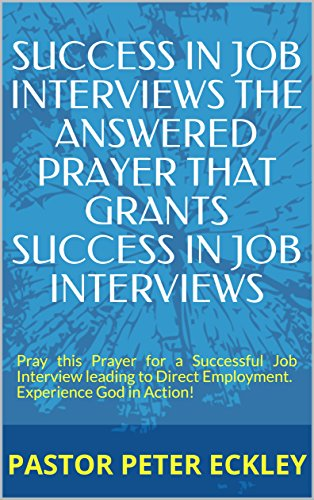 Prayer for job interview