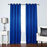 Best Home Fashion Premium Thermal Insulated Blackout Curtain - Antique Bronze Grommet Top
