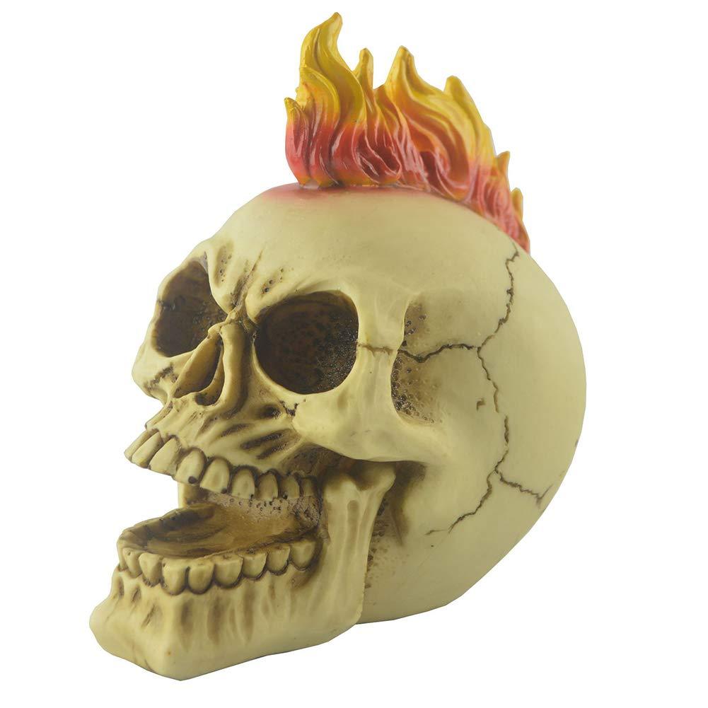 DevilaLover Creative Skeleton Skull Decoration Creative Simulation Resin Crafts for Bar Decoration Christmas Party Dinning Ornament Halloween by DevilaLover