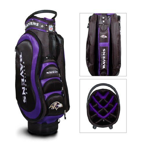 Baltimore Ravens NFL Medalist Golf Cart Bag by Team Golf