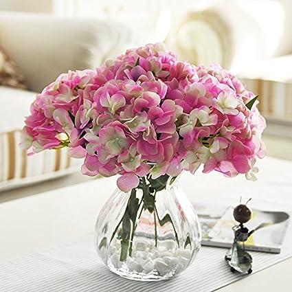 ZHUDJ Kit Uniteds Hidratante Sala, Decorada Mesa De Comedor Ornamentos Florales Flores De Seda Flores