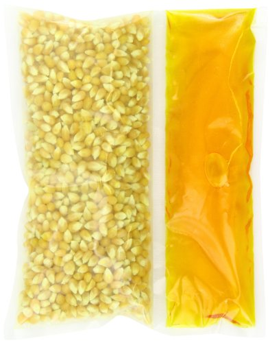Snappy Popcorn Canola Snap-Paks Poppers Yellow Popcorn and Salt, Canola Oil ,24 Count