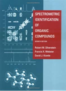 Microscale and macroscale techniques in the organic laboratory spectrometric identification of organic compounds fandeluxe Images