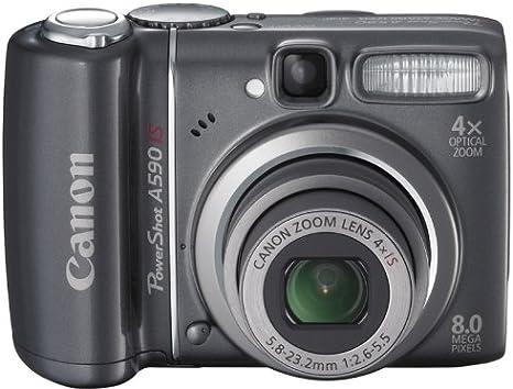 Canon PowerShot A590 IS - Cámara Digital Compacta 8 MP ...