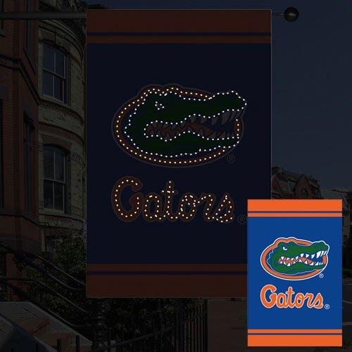 UPC 746851730757, NCAA Florida Gators Fiber Optic Flag - Royal Blue/Orange