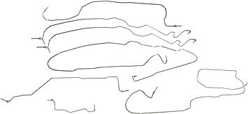 Dorman Stainless Brake Line Kit for 05-07 Reg Cab Silverado Sierra 1500 2WD
