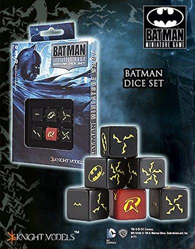 Batman Miniature Game: Batman Dice Set ACC0031 Knight Models by Q Workshop