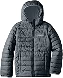 Columbia Big Boys' Powder Lite Puffer Jacket, Graphite, Small