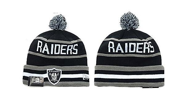NFL Oakland Raiders para gorro de lana gorro gorra tapa: Amazon.es ...
