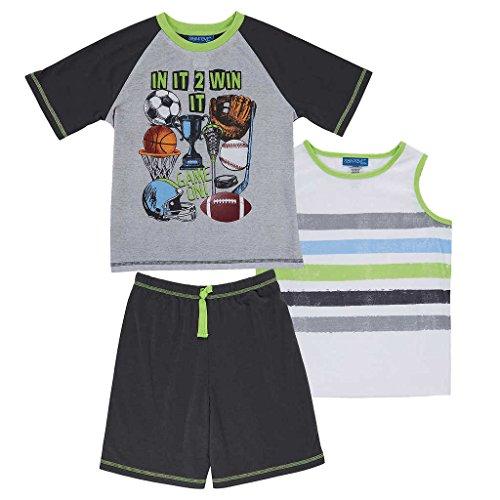 St. Eve Boys 3 pc. Sleepwear Set, Sport, Small - For Kids Jd Sports