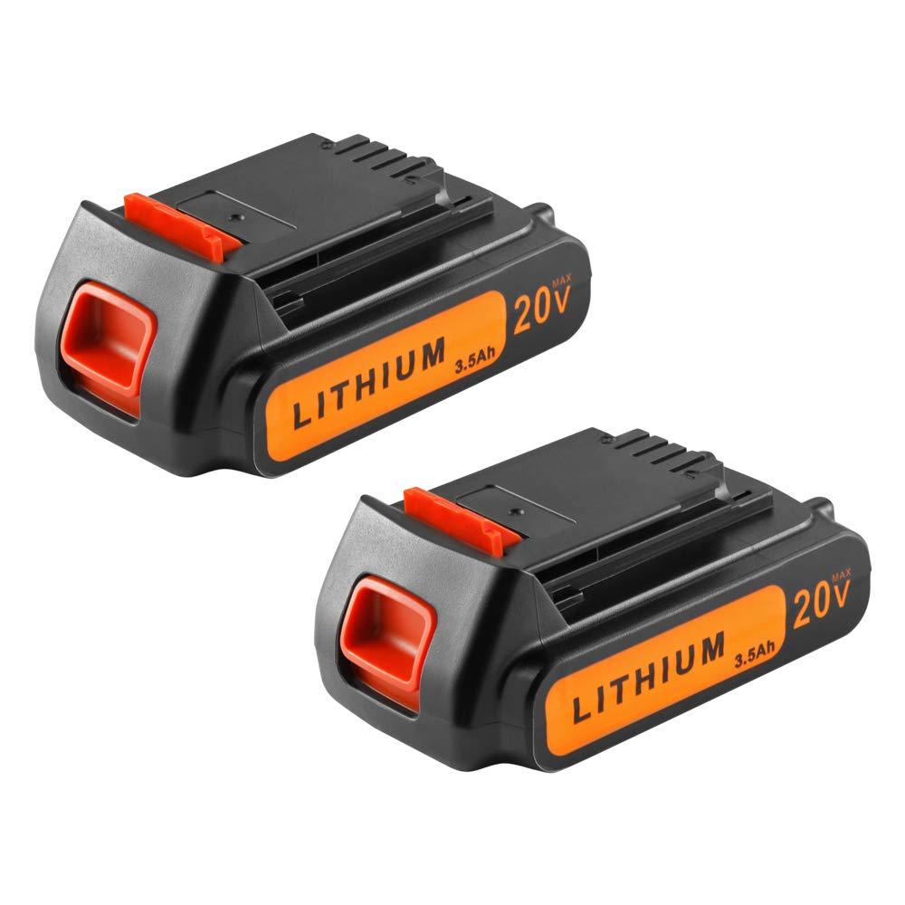 2 Baterias para Black And Decker 20V LB20 LBX20 LST220