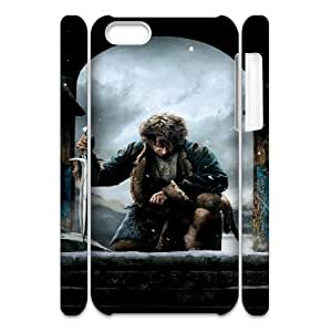 The Hobbit 3 FG8054474 3D Art Print Design Phone Back Case Customized Hard Shell Protection Iphone 5C