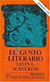 El Gusto Literario, Levin L. Schuking, 9681600134