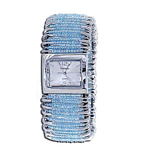 VistaBella Varsales Women's Safety Pin Elastic Band Watch #3438-17 price tips cheap