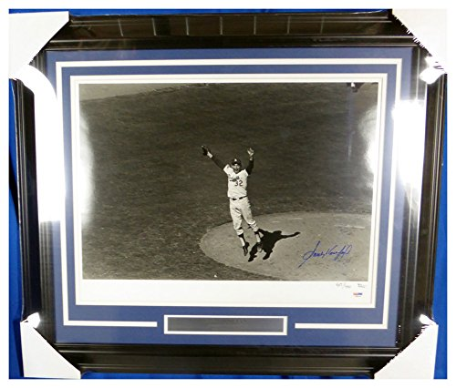 (Sandy Koufax Autographed Signed Framed 16x20 Photo Los Angeles Dodgers - PSA/DNA Authentic)