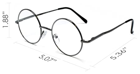 amazon vintage round reading glasses for women and men readers UK Beauty amazon vintage round reading glasses for women and men readers retro style by florida glasses 2 50 strength gun metal health personal care