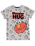 Sesame Street Boys Elmo T-Shirt Grey Size 3T