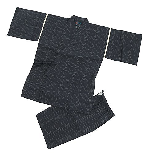 Edoten Men's Japan Kimono Jinbei 703B XXL