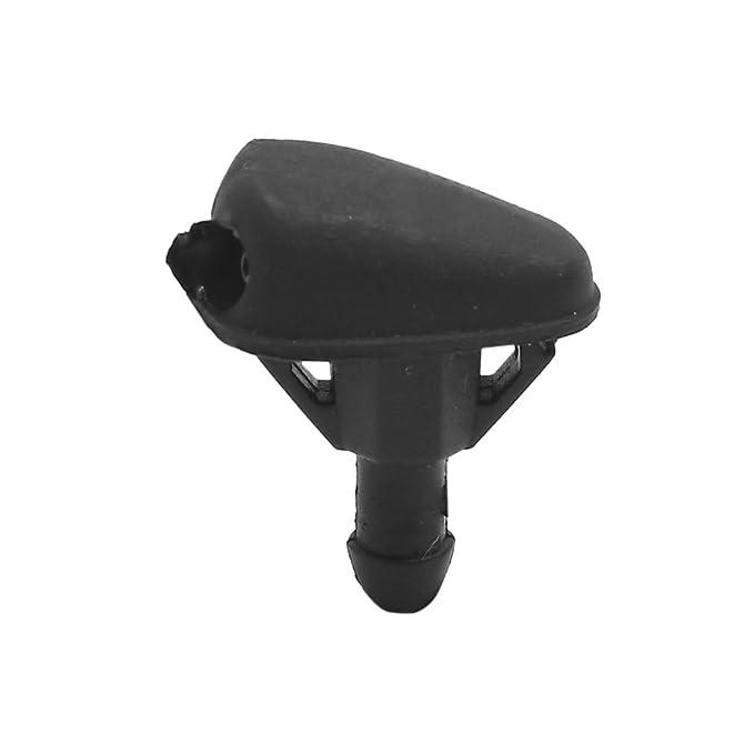sourcingmap de Coche 2 Agujeros Pulverizador Boquilla Rociador de Parabrisas 3mm: Amazon.es: Coche y moto