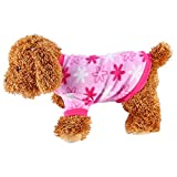 Description: - 100% brand new - Material: Polar Fleece - Color: as picture shown - Soft material. make your puppy comfortable and beautiful. - Fashional design, make your little dog more attractive.  Size measurement Size     Back Length(cm)   ...