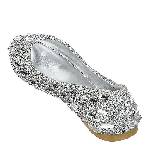 Shiekh JULIE-04 Dress Flat Silver pkNGFPnP
