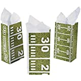 Football Field Treat Bags (One Dozen)Party Supplies/Tailgating/TreatBags/Party favors