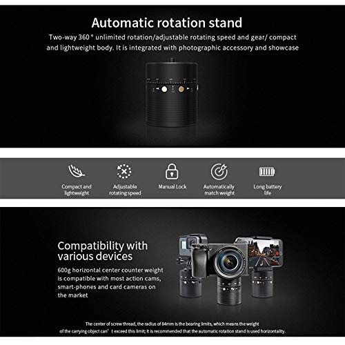 Wikiwand FeiyuTech 360degree Automatic Rotation Stand Holder Stabilizer for Camera by Wikiwand (Image #5)