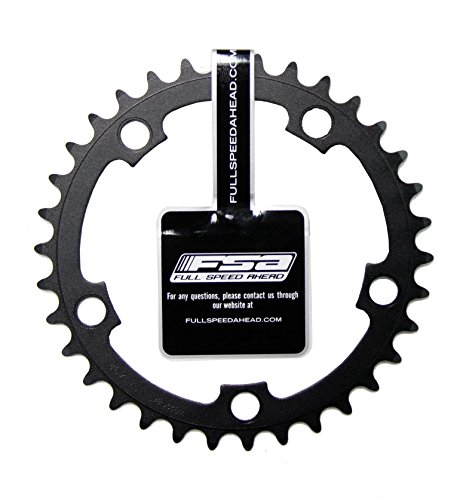 FSA Pro Road Chainring, 110x34t, Black