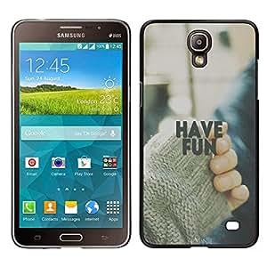 Dragon Case - FOR Samsung Galaxy Mega 2 - Wasted on crap - Caja protectora de pl??stico duro de la cubierta Dise?¡Ào Slim Fit