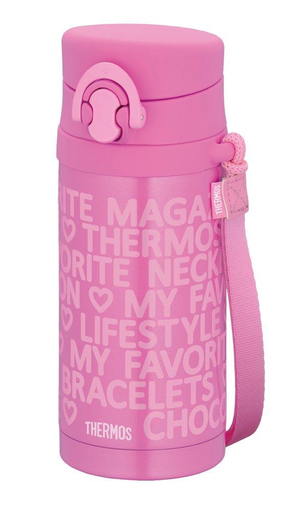 THERMOS Kids JNG-350-DP Pink | Thermal Stainless Mug 0.35 liter ( 11.8 oz.) (Japanese Import)