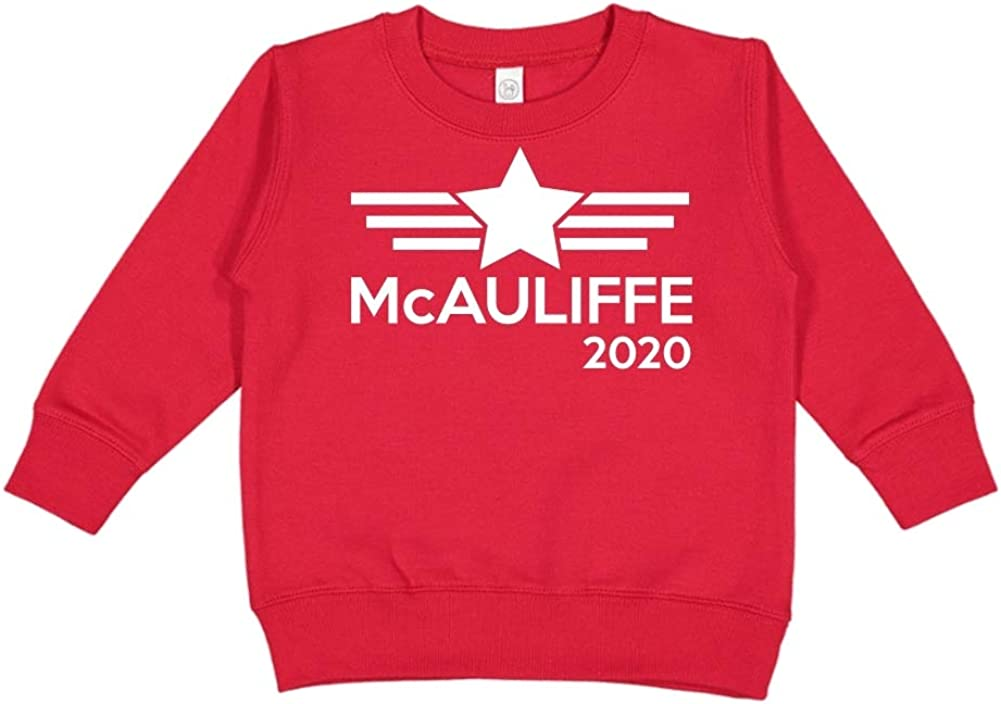 Mashed Clothing McAuliffe 2020 Presidential Election 2020 Toddler//Kids Sweatshirt