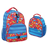 Stephen Joseph Boys Dinosaur Print Backpack and Lunch Box