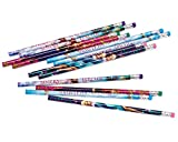 Disney Frozen Assorted Pencil Birthday Party Favour and Prize Giveaway (12 Pack), Multi Color, 7 3/8'.