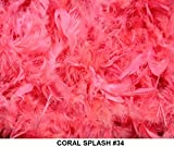 Cozy Glamour Solid Boas 6 Foot Long 50 Grams Crafts Costumes Decorating (#34 Coral Splash)