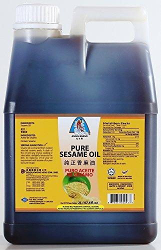 Angel Brand Pure Sesame Oil, 67.6 Ounce