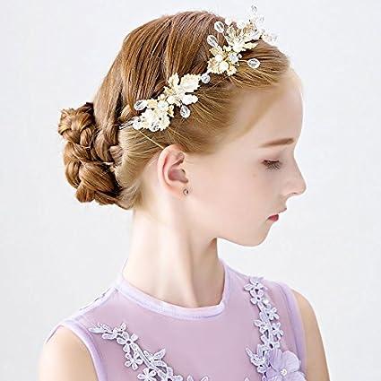 Copricapo della ragazza Bambini i cappelli ed altri copricapo di Garland  ragazze principessa cerchietto per capelli eada7d960673
